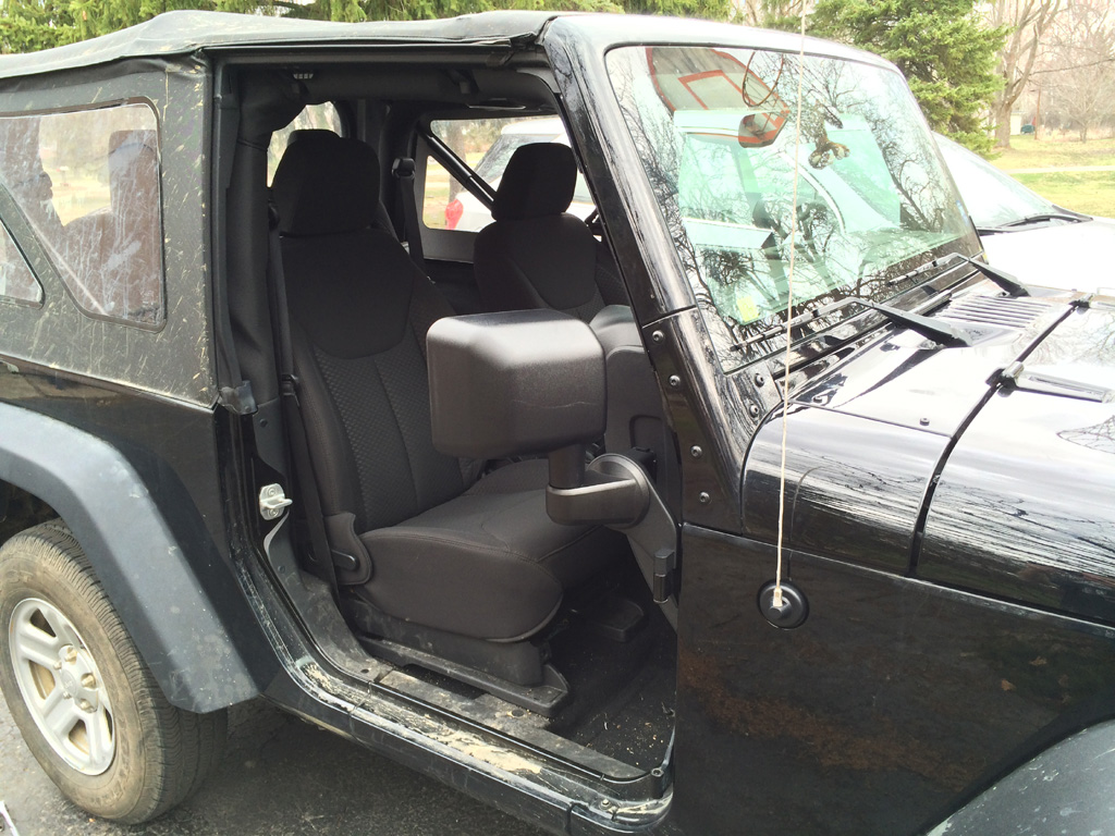 dietech off road mirror brackets (for going doorless!) - jeep
