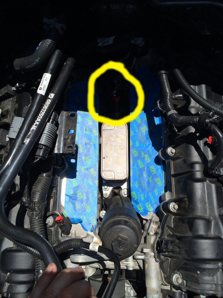 Removing The Intake Manifold On Pentastar 36 Jeep Wrangler Forum Leaking Coolant This Image Has Been Resized Click Bar To View Full