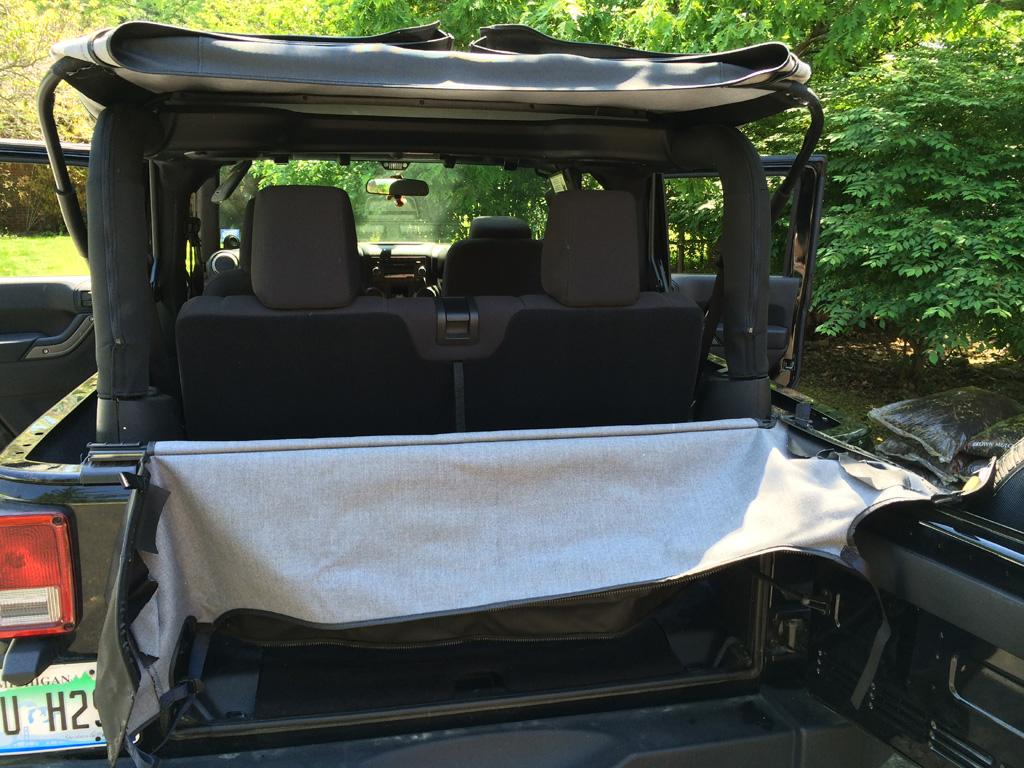 Smittybilt Soft Top Storage Boot Install Jeep Rear Window Fold The Down On Of Open Be Sure To Neatly And Compact As You Take A Second Person Makes This Much Easier